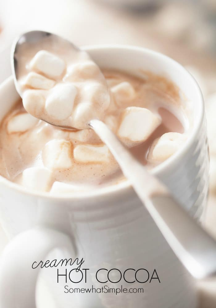 simple hot cocoa for one creamy hot chocolate creamy hot cocoa see how ...