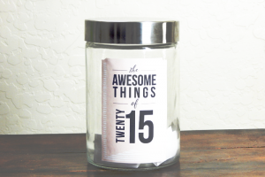 2015 Journal Jar Kit // Free Download