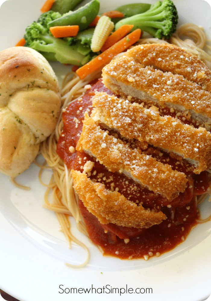 Easy Chicken Parmesan Recipe - Somewhat Simple