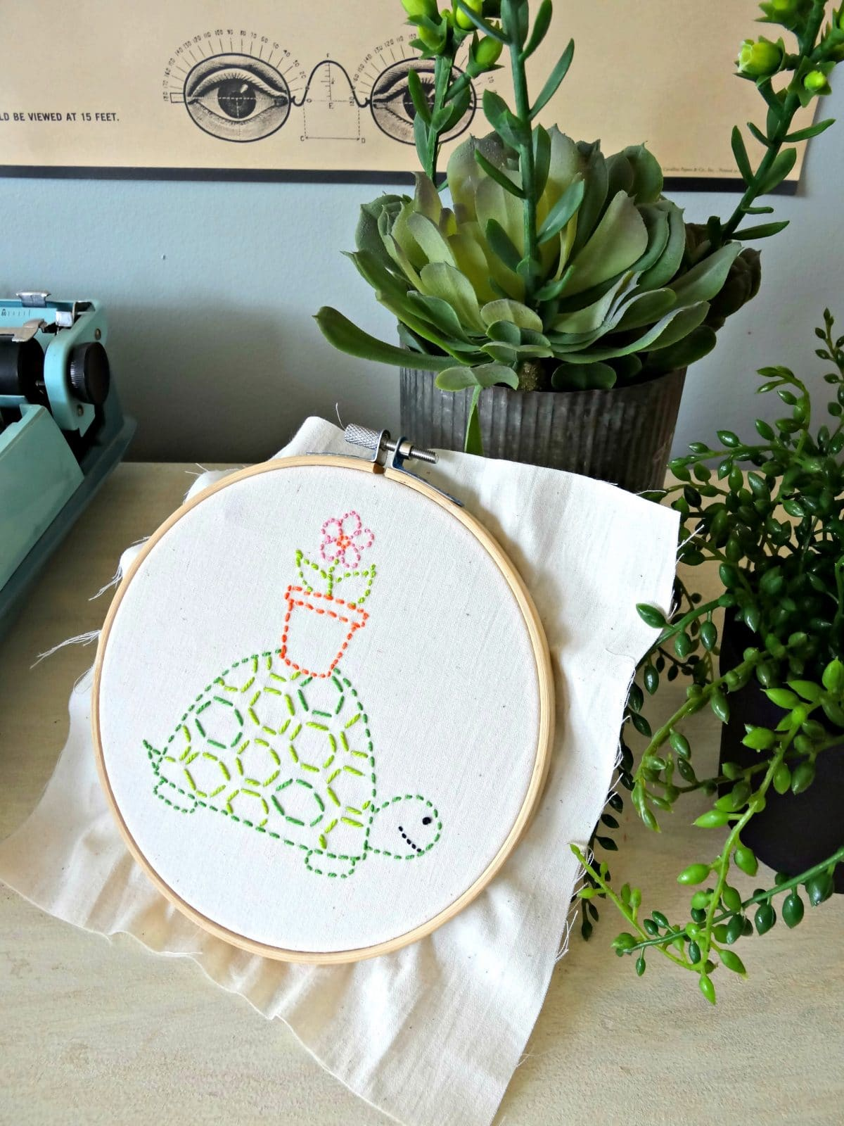 Simple Embroidery Designs Giveaway