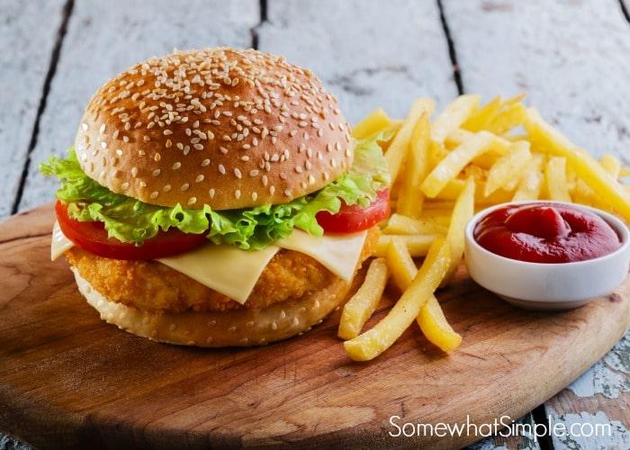 Chicken Sandwiches Somewhat Simple