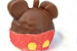 mickey caramel apple