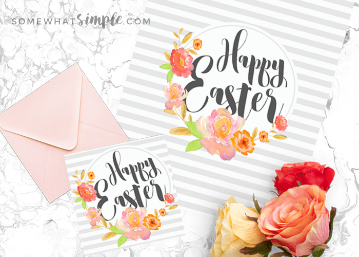 Easter gift tags and wall art printables somewhatsimple easter gift tags negle Choice Image