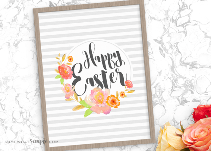 Easter gift tags and wall art printables somewhatsimple save negle Images
