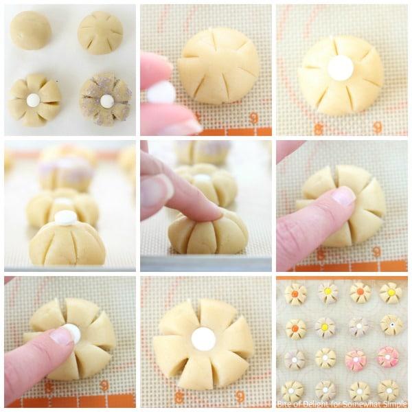 Sugar Cookie Flowers