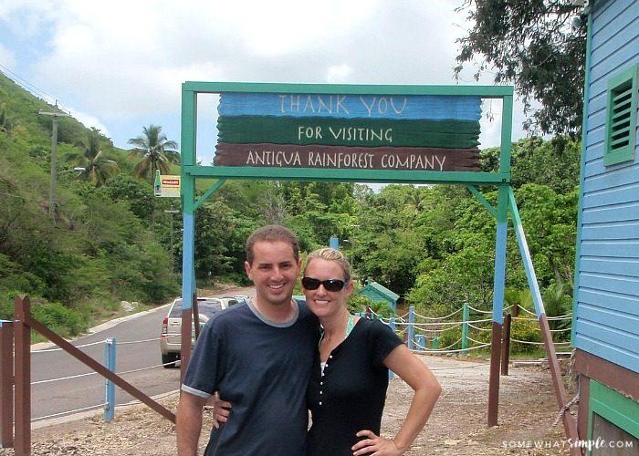Zip Lining on Antigua Island – Trying Something New!