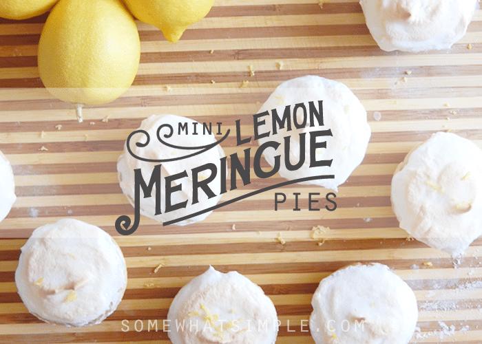 mini lemon meringue pies recipe