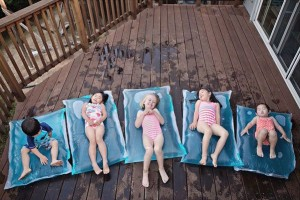 outdoor activities - mini water beds