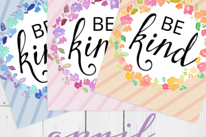 be kind newsletter printable