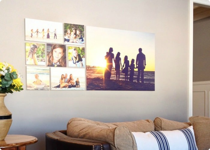 Top 10 canvas collage ideas somewhat simple for Canvas print arrangement ideas