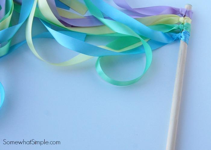 ribbon wands tutorial