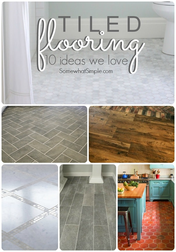 tiled flooring ideas