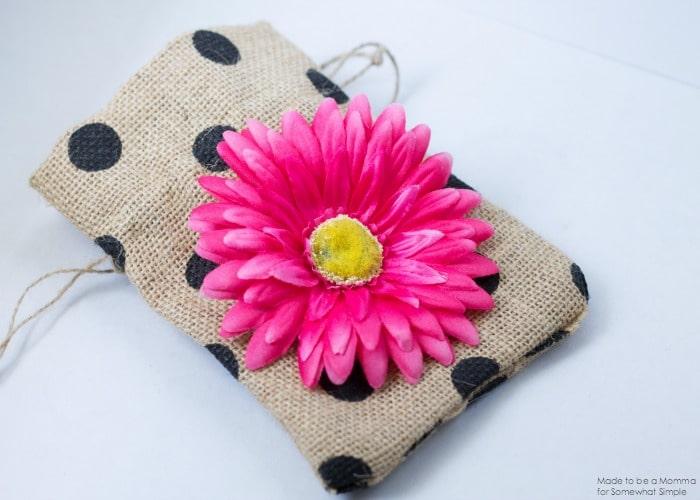 Flower on Bag
