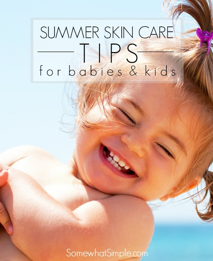 how to take care of baby skin in summer