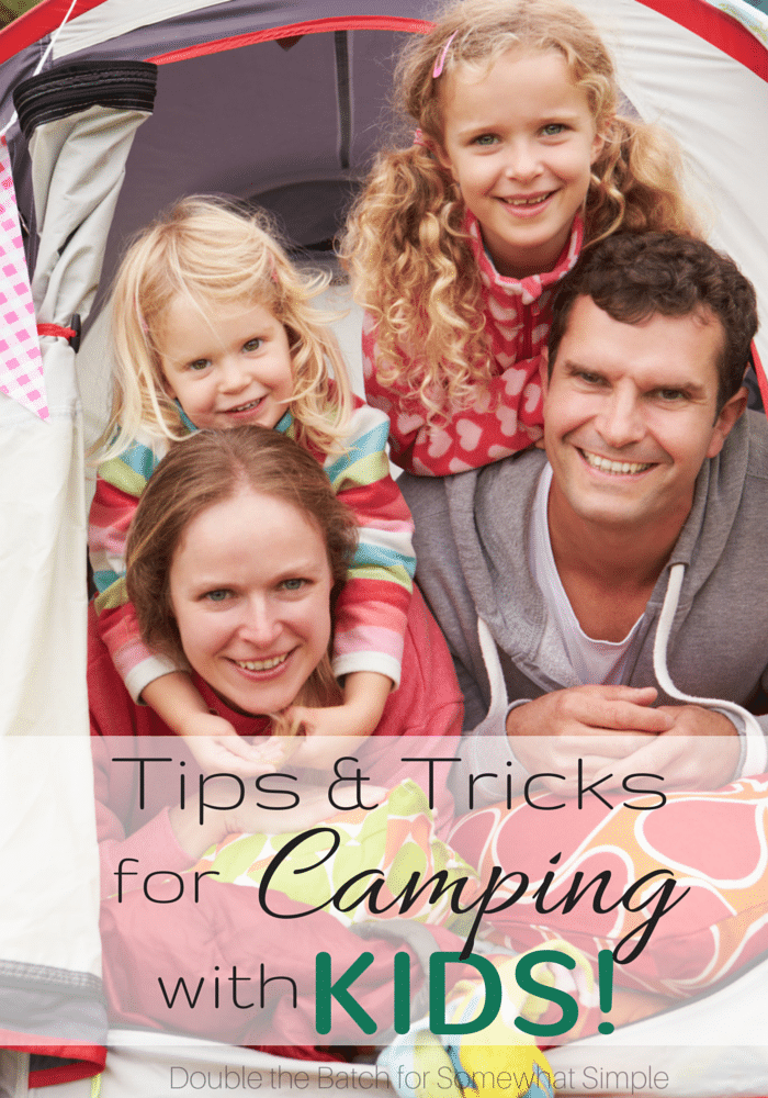 I will definitely need these tips for camping with kids  this summer!