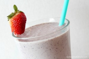 frozen breakfast smoothies