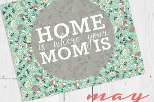 home is mom free printable