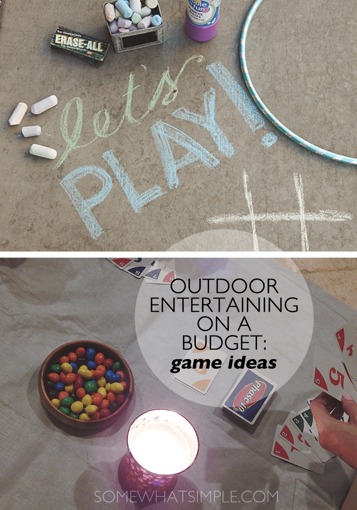 outdoor entertaining - games