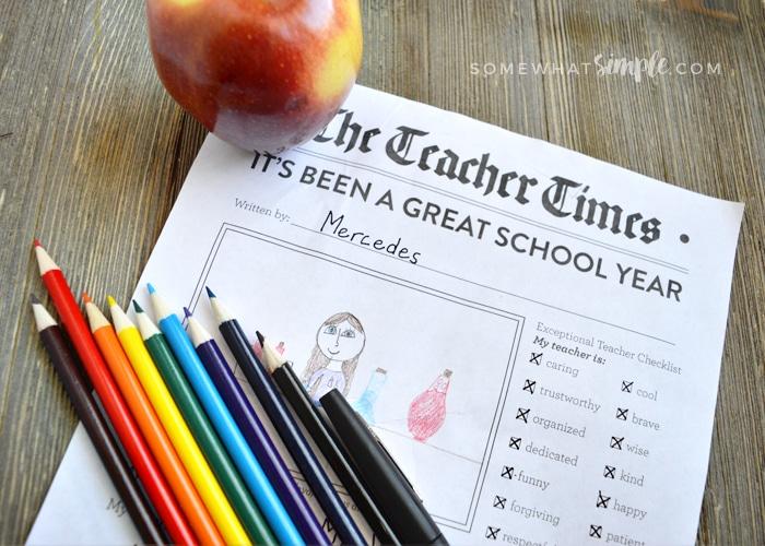 Teacher Newspaper