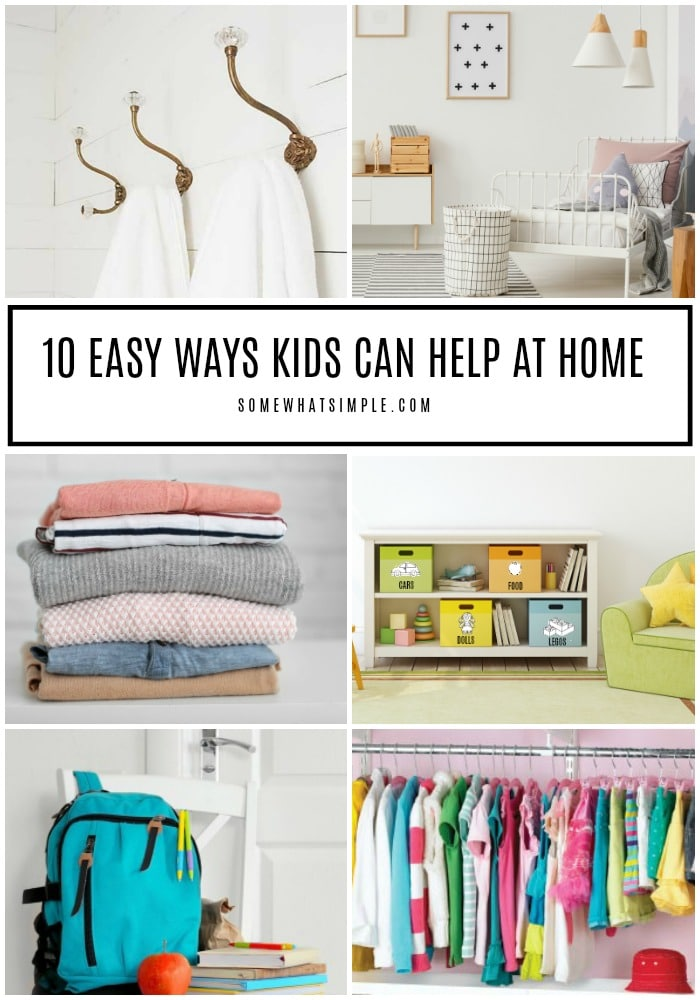 Chores for Kids - 10 Ways Kids Can Help at Home