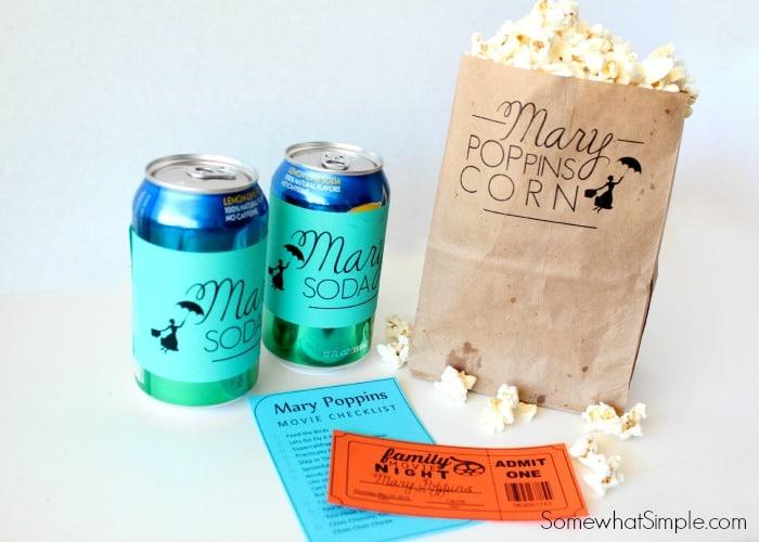 Mary Poppins Movie Night 6