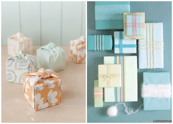 creative summer gift wrap