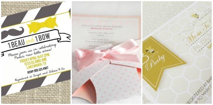 baby shower invitation design ideas