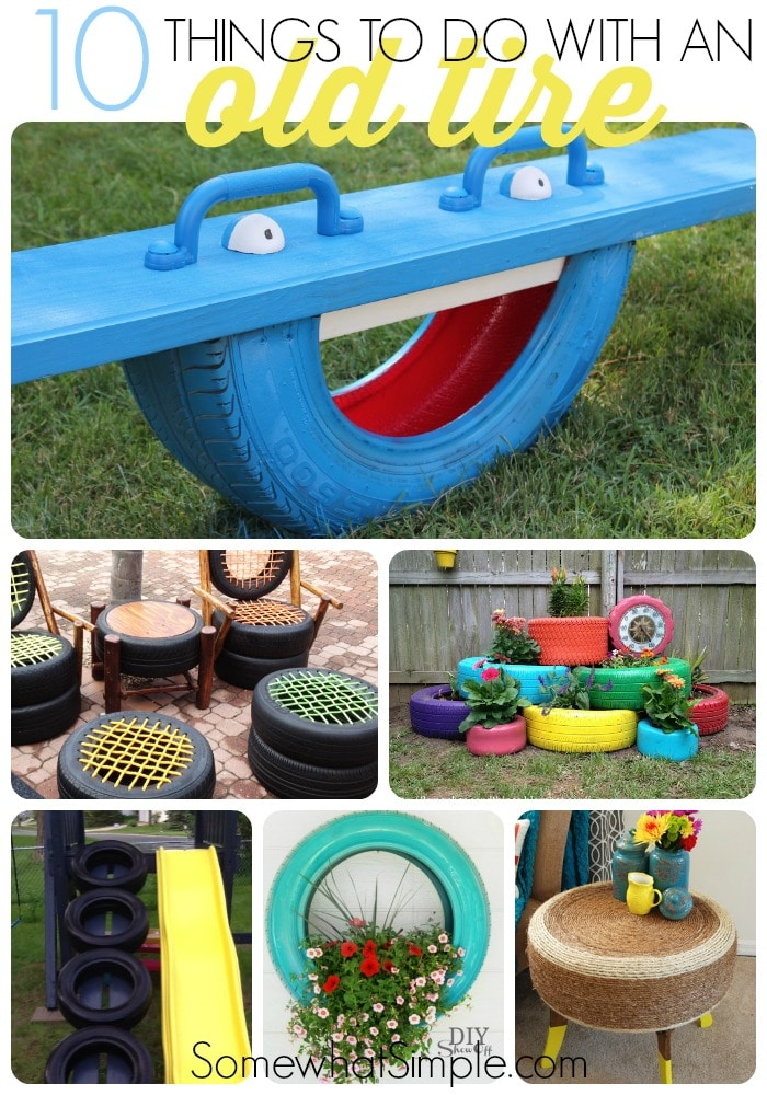 10 used tire ideas driveguard somewhat simple Things to make out of old tires
