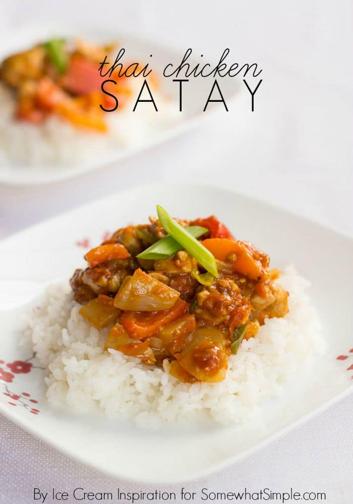 Easy Thai Chicken Satay Recipe- Somewhat Simple