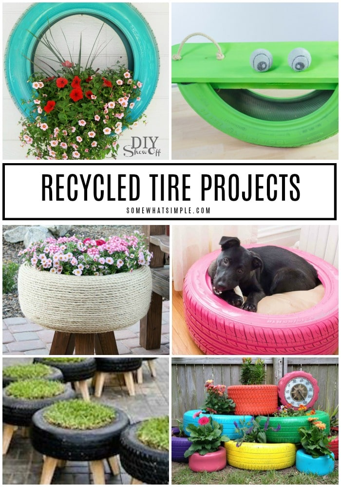 recycled tire projects