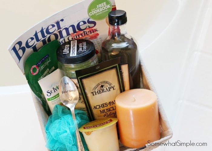 Relaxation Gift Basket 2