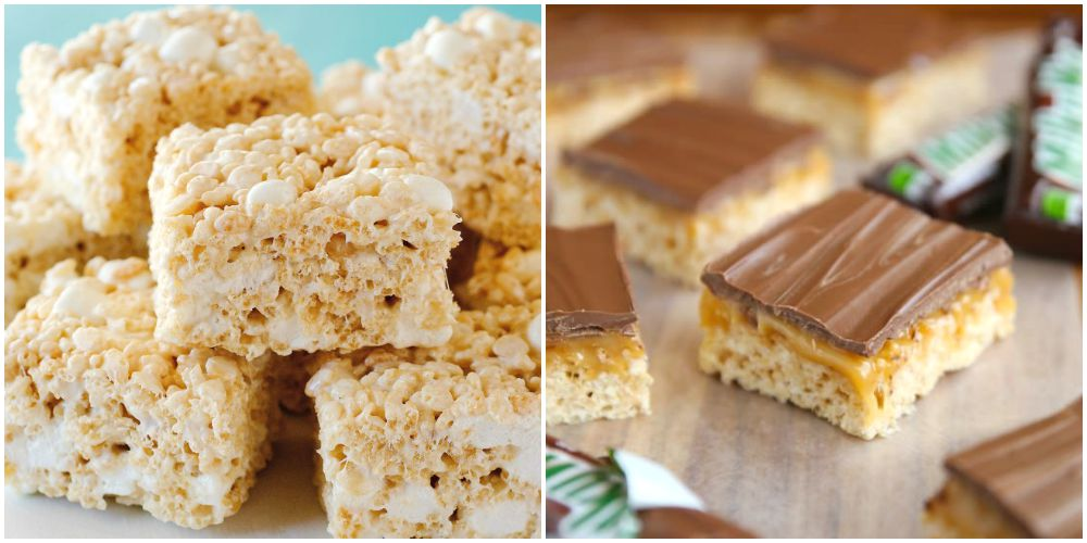 Top 28 rice crispy recipes red couch recipes rice for Food network 50 bar cookie recipes