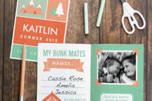 Summer Camp Journal Free Printable 2