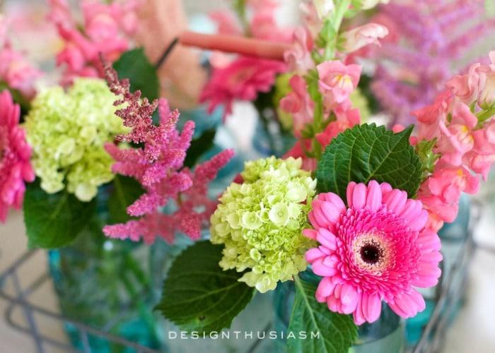 summer flower decor