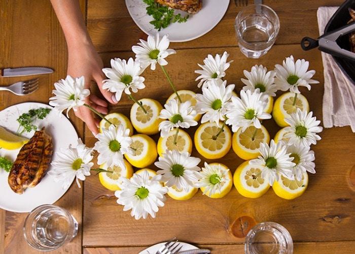 summer floral decor