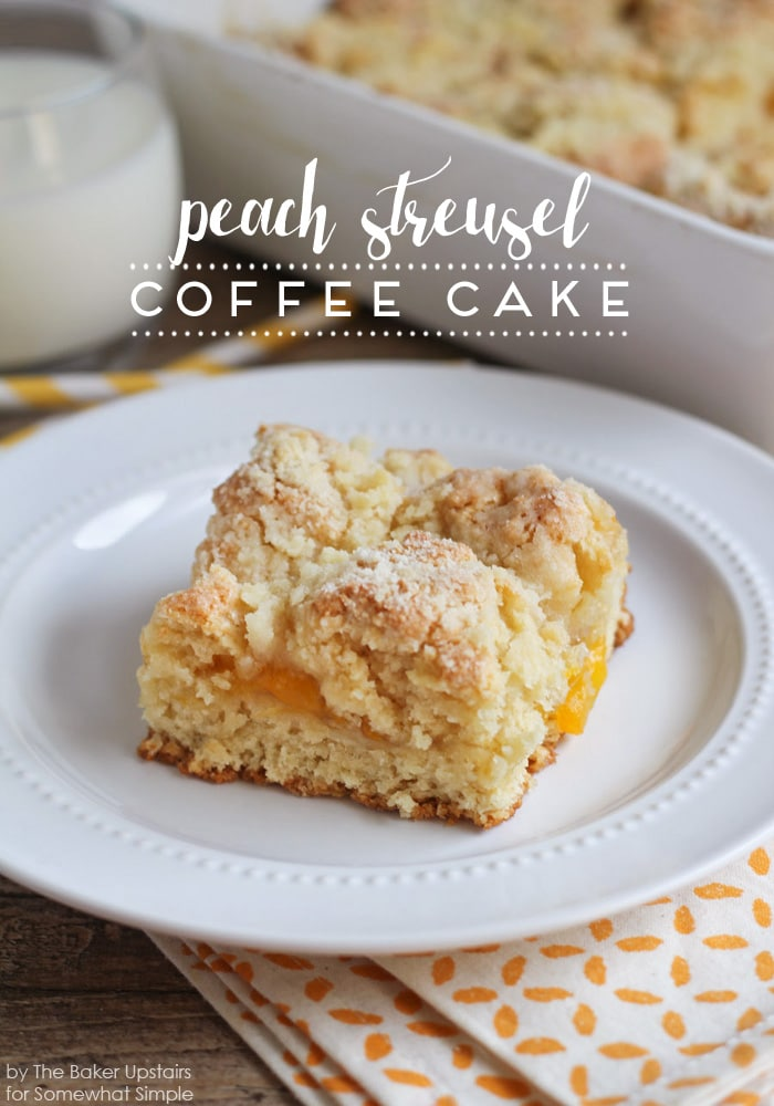 Easy Streusel Coffee Cake Recipe — Dishmaps