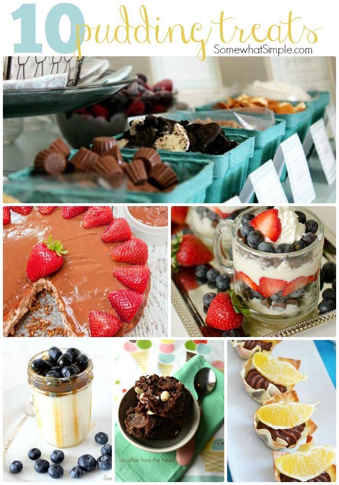 10 Favorite Pudding Treats