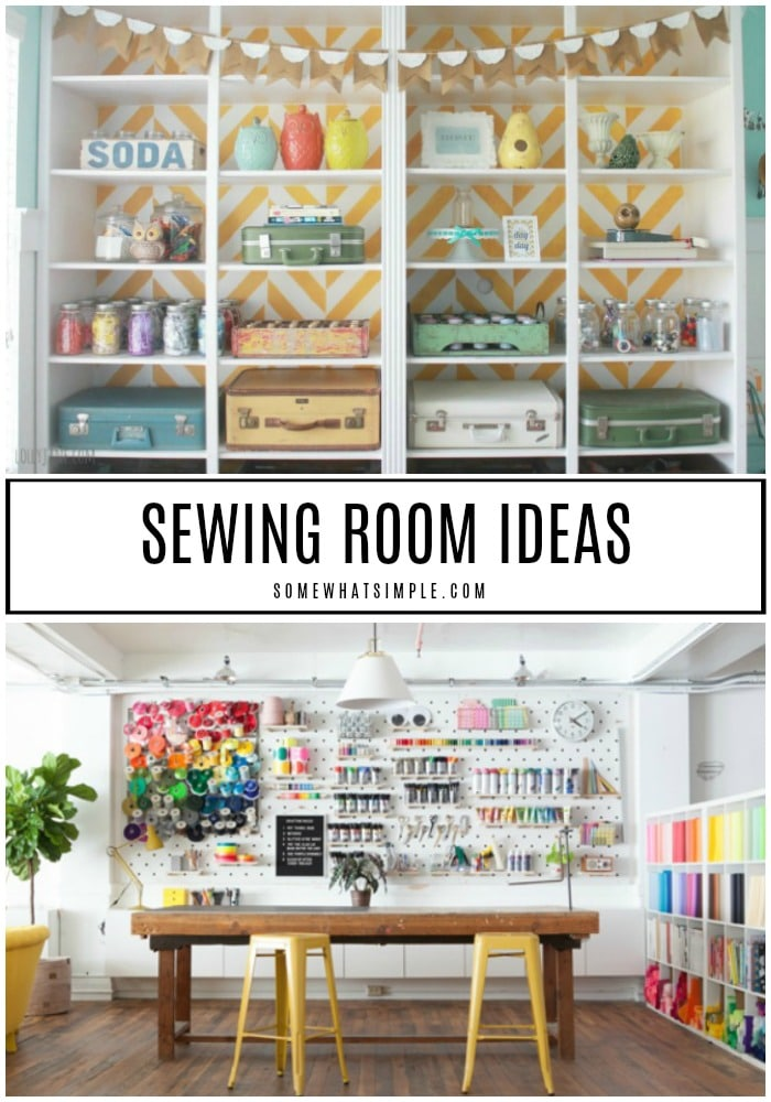 10 Sewing Room Ideas