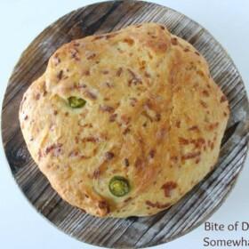 Cheddar Jalapeno Bread