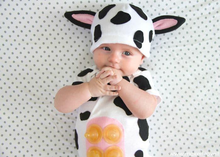 10 DIY Baby Costumes for Halloween
