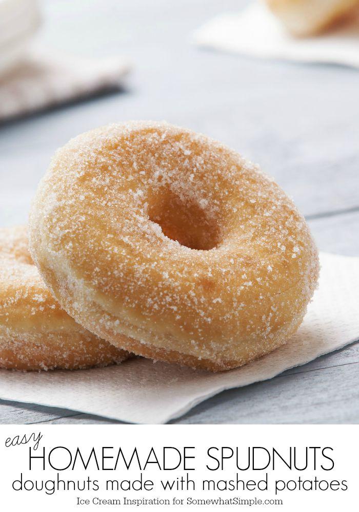 Old Fashioned Mashed Potato Donuts