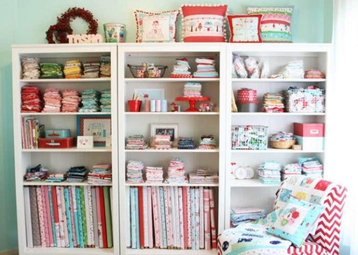 Sewing Room Fabric Ideas