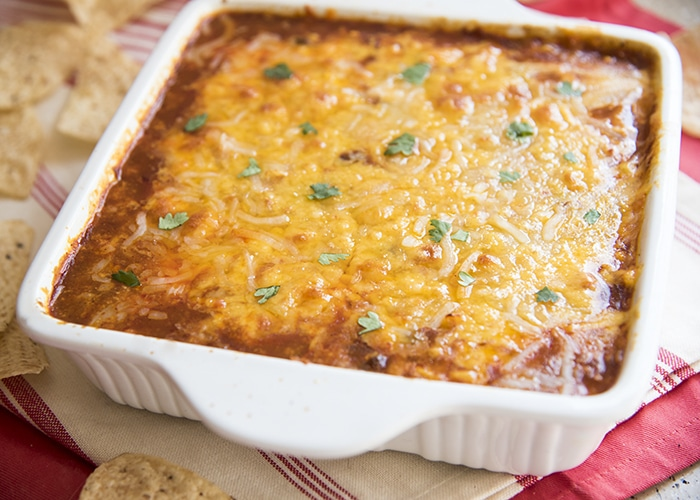 chicken enchilada dip 4