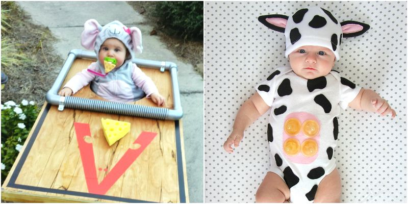10 Cutest Diy Baby Costumes For Halloween Somewhat Simple