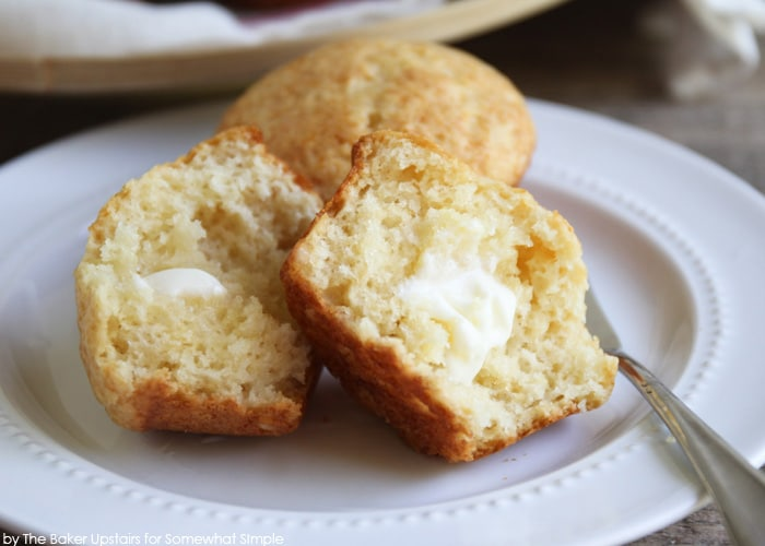 Honey Muffins with butter