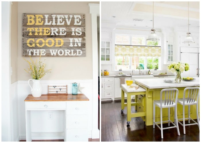 Decorating With Yellow and Gray - 20 Spaces We Love ...