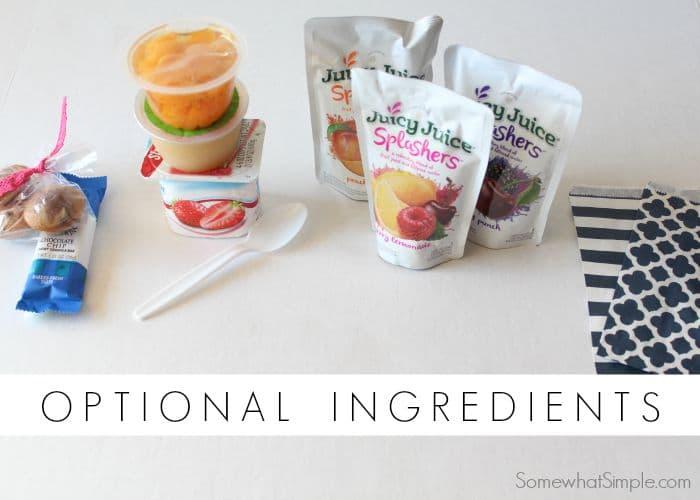 Easy Breakfast Ingredients