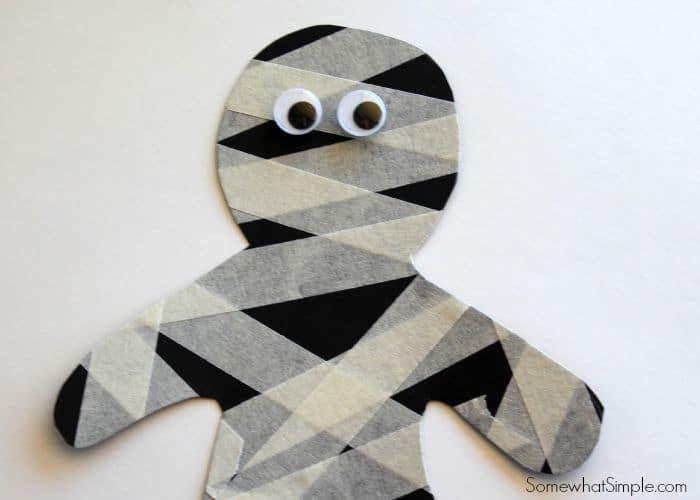 Masking Tape Mummy 2