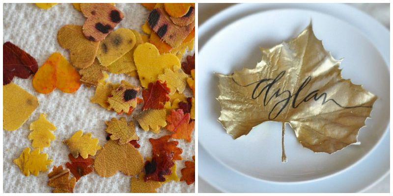 fall leaf decor