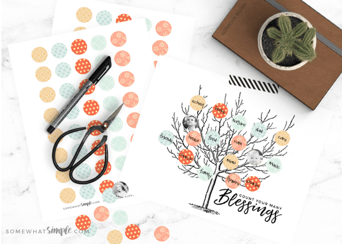 the pages included in this Thanksgiving activity printable